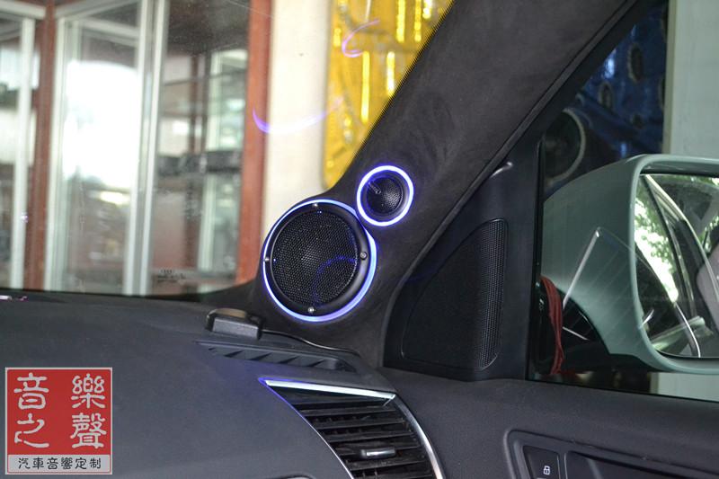 奥迪q5汽车音响改装一步到位,好声音唤醒你的耳朵