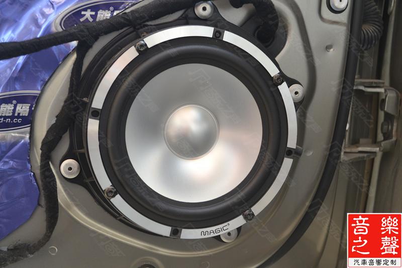 雪铁龙c5汽车音响改装魔立方三分频 德国喜力士 美国捷力低音系统