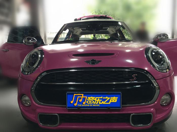 迷你汽車音響改裝德國海螺5系三分頻美國捷力汽車