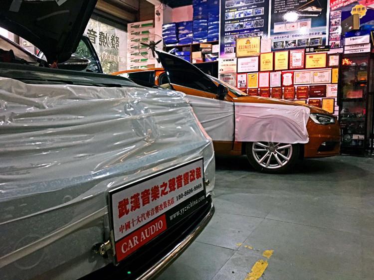 精致典范—大众迈腾改装德国海螺汽车音响/美国捷力低音倒模案例