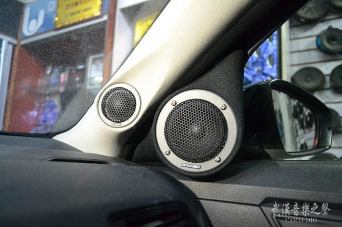 大众朗逸汽车音响改装丹麦丹拿三分频,感受天籁之音