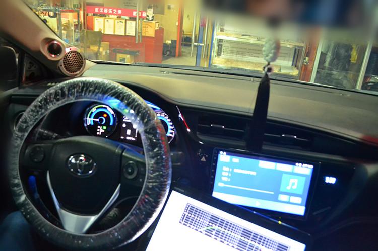 丰田卡罗拉汽车音响改装德国艾索特三分频汽车音响